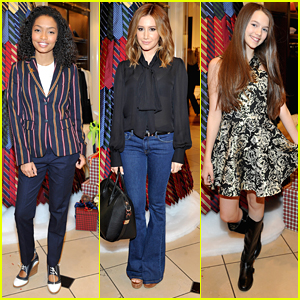 Yara Shahidi & Ashley Tisdale Give Back With St. Jude & Brooks Brothers For Holiday Season