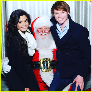 Calum Worthy Shares Cutest Holiday Pic Ever With Girlfriend Celesta DeAstis
