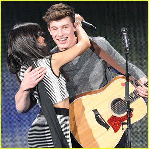 Camila Cabello & Shawn Mendes Continue Their Cuteness at Tampa Jingle Ball 2015