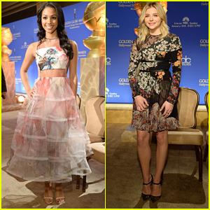 Corinne Foxx Chloe Moretz Golden Globe Nominations Brooklyn Bailey Mcknight Kids Choice