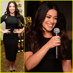 Gina Rodriguez's 'Jane The Virgin' Co-Stars React To Her Golden Globe Nomination