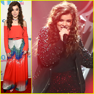 Bailee Madison Was 'Bursting' Over Hailee Steinfeld At Y100's Jingle Ball 2015