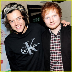 Harry Styles Reveals His Favorite Ed Sheeran Song!