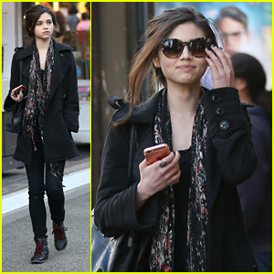 India Eisley Goes Holiday Shopping With Mom Olivia Hussey