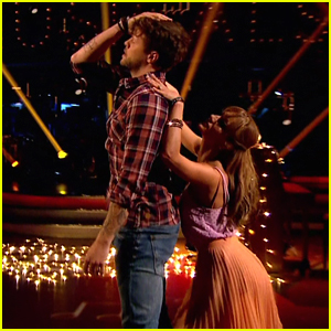 Jay McGuiness Tops Leaderboard with Moving Rumba on 'Strictly Come Dancing'