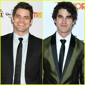 Supergirl's Jeremy Jordan & Glee's Darren Criss Step Out for TrevorLIVE!