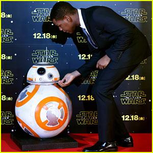 John Boyega Saved BB-8's Life- Watch Now