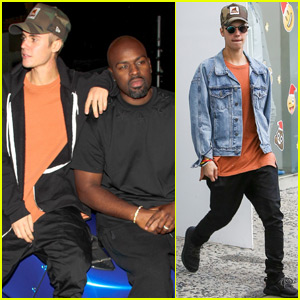 Justin Bieber Kicks Off His Weekend With Shopping & A Secret Show