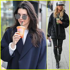 Kendall Jenner & Hailey Baldwin Continue Their Christmas Shopping in Malibu
