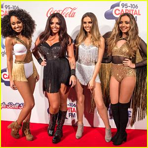 Little Mix Perform 'Secret Love Song' At CapitalFM's Jingle Bell Ball 2015 - Watch Now!