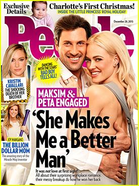 Maksim Chmerkovskiy & Peta Murgatroyd Share Their Love Story with 'People' Mag