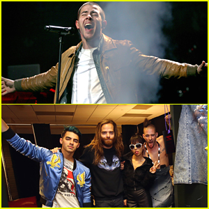 Nick Jonas & DNCE Keep The Party Going at Jingle Ball 2015 in Minnesota!