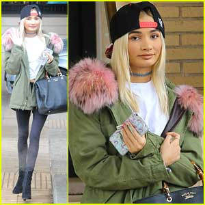 Pia Mia Completes Her Christmas Shopping At Barneys New York