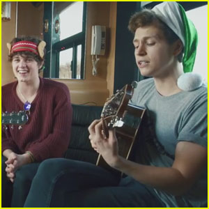 The Vamps Cover 'Jingle Bells' for Awesomeness TV - Watch the Exclusive Video!
