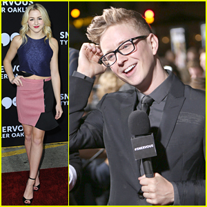 Tyler Oakley Gets Major Support From YouTubers At 'Snervous' Premiere