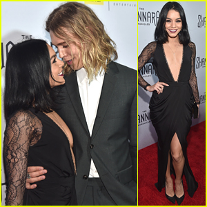 Vanessa Hudgens Supports Austin Butler at 'Shannara Chronicles' Premiere