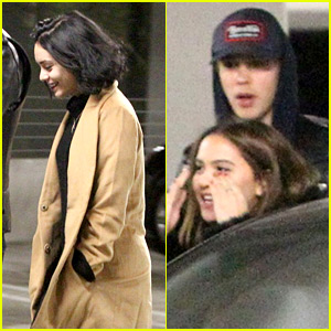 Vanessa Hudgens & Austin Butler Head to the Movies on Christmas Weekend