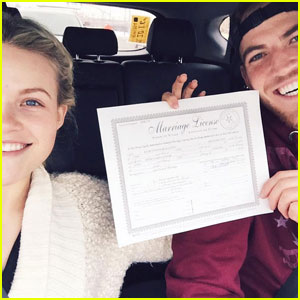 Witney Carson Just Got Her Marriage License!