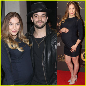 Allison Holker Shows Off Growing Baby Bump During Golden Globes Weekend 2016