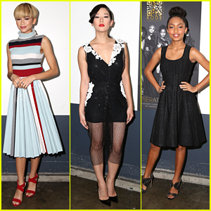 Zendaya & Arden Cho Step Out For Kode's 'Generation Noir' Issue Party