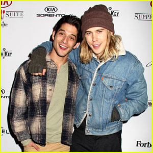 Watch Tyler Posey & Austin Butler Tackle Canadian Accents in First 'Yoga Hosers' Clip