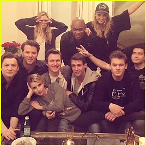 Ansel Elgort & 'Billionaire Boys Club' Cast Wrap Filming!