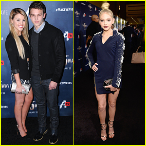 Brooke Sorenson & Gavin MacIntosh Couple Up For '5th Wave' Screening