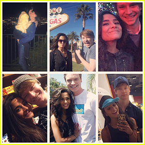 Calum Worthy Gets The Sweetest Birthday Message from Girlfriend Celesta Deastis