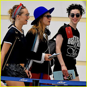 Cara Delevingne & St. Vincent Return From Caribbean Holiday