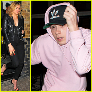 Chloe Moretz & Brooklyn Beckham Hang Out Together in London