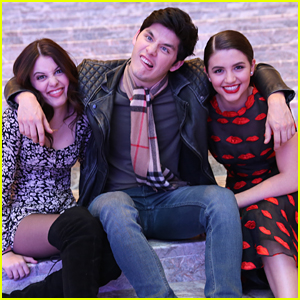 Degrassi Stars Ana Golja, Ricardo Hoyos & Sara Waisglass Take A Bite Out of the Big Apple