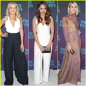 Emily Osment & Aimee Carrero Join Chelsea Kane & Maia Mitchell At ABC's Winter TCA Party