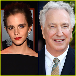 Emma Watson Releases Statement on Alan Rickman's Sudden Death