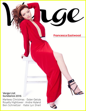 Francesca Eastwood Covers 'Verge' Magazine's Sundance Edition