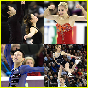 Gracie Gold, Adam Rippon, Maia & Alex Shibutani Lead US Team To Worlds Competition in Boston