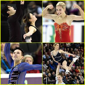 Gracie Gold, Adam Rippon, Maia & Alex Shibutani Lead US Team To Worlds Competition in Boston