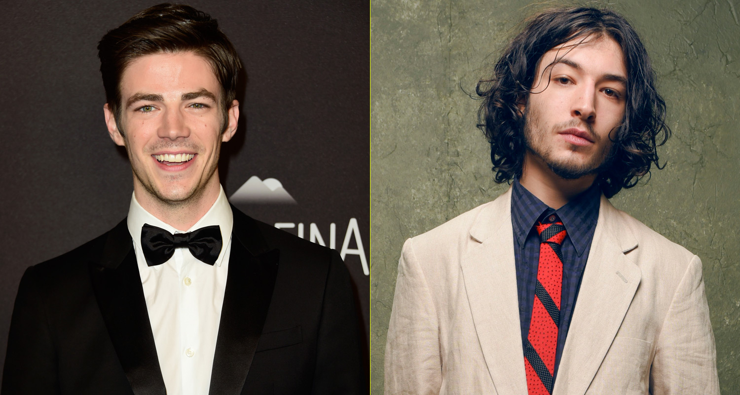 Grant gustin supports ezra miller playing the flash ezra miller grant gustin supports ezra miller playing the flash ezra miller grant gustin just jared jr m4hsunfo