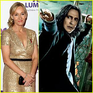 J.K. Rowling Reveals Secret About Severus Snape No One Knew Except Alan Rickman