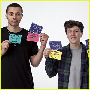 Kalin & Myles Team Up With DoSomething.Org For 'Quitters Always Win' Campaign