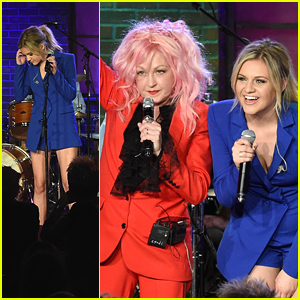 Kelsea Ballerini Performs With Cyndi Lauper in Nashville - See The Pics!