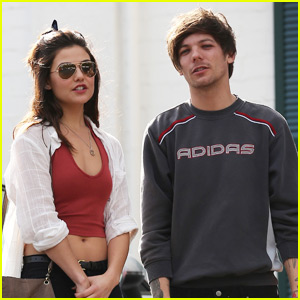 Louis Tomlinson & Danielle Campbell Do Some Shopping Together