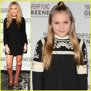 Lennon & Maisy Stella Hit YMA Fashion Scholarship Awards Gala