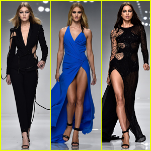Gigi Hadid Shuts Down the Runway at Versace Fashion Show