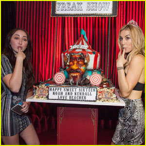 Noah Cyrus Celebrates Sweet 16 With 'American Horror Story' Themed Bash!