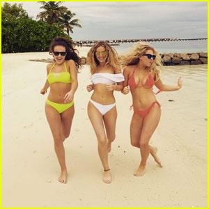 BikiniBikini White Edwards Cute Perrie Channels 'baywatch' In 4AjL5R