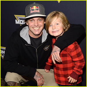 Ryan Sheckler Checks Out Monster Jam's Celebrity Night