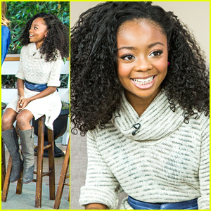 Skai Jackson Plays Charades on Hallmark's 'Home & Family'