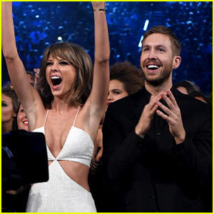 Taylor Swift Is Celebrating NYE with Calvin Harris!