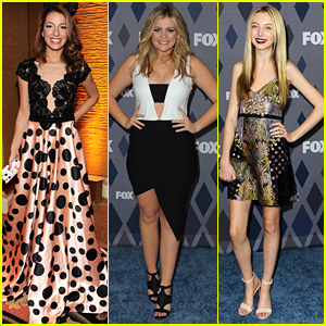 Vanessa Lengies & Hana Hayes Step Out For Fox's TCA Winter All-Star Party