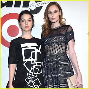 Adelaide Kane & Alyssa Campanella Make It A Girl's Night At Daily Front Row's NYFW Kick-Off Party